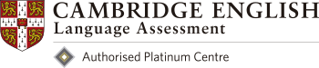 Cambridge English Language Assesment Authorised Platinum Center